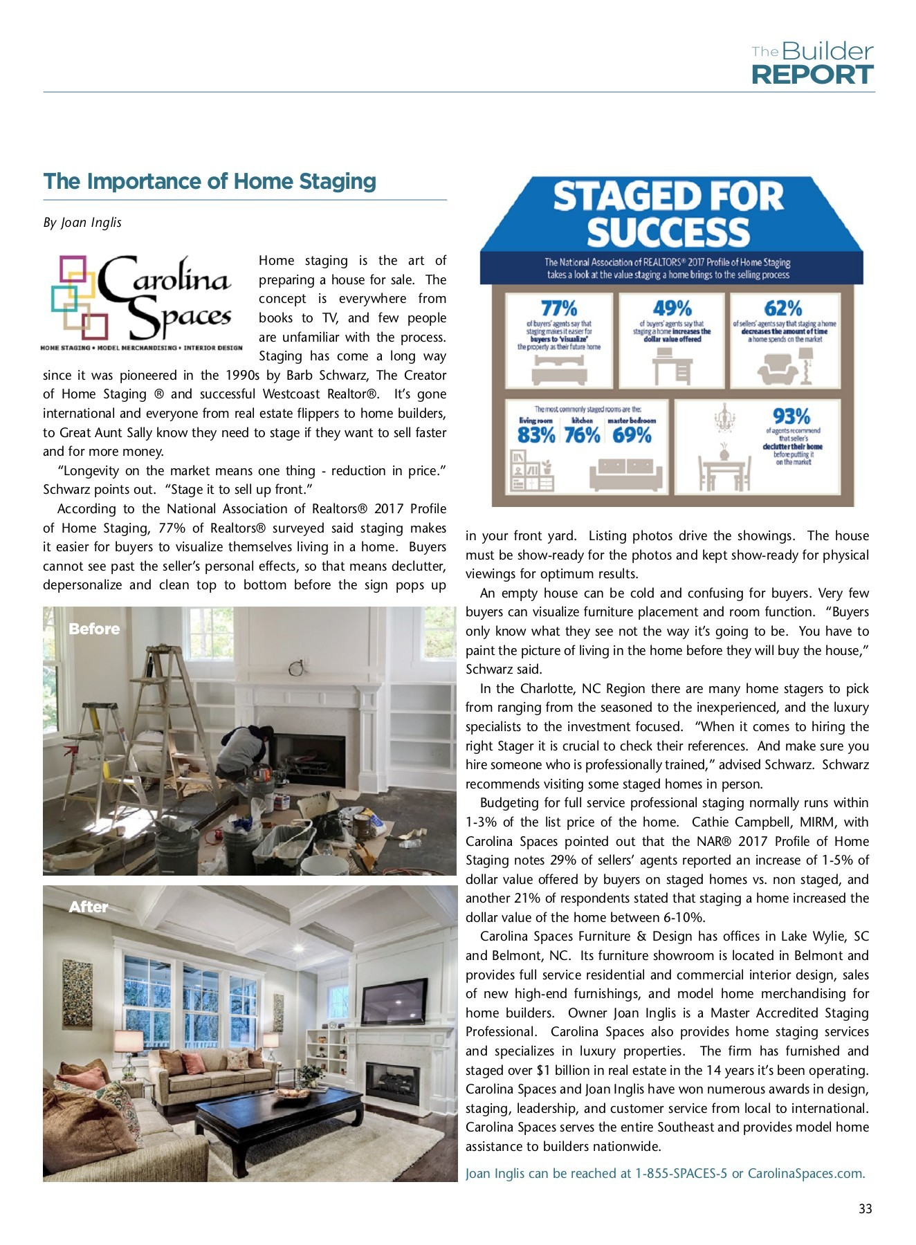 New Home Guide Staging Article