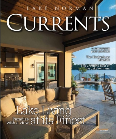 Charlotte Home Staging Expert Joan Inglis Featured in New Year, New Home - Your 2017 Home Forecast inside the January 2017 issue of Lake Norman Currents Magazine