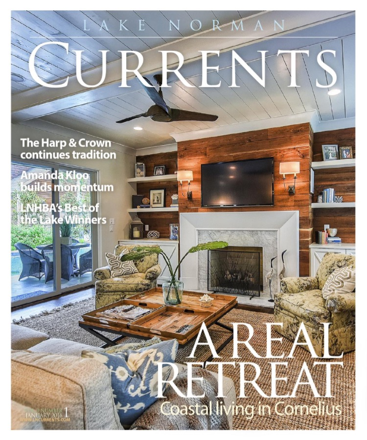 Cover of Lake Norman Currents Magazine