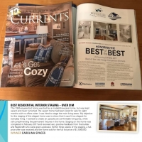 Carolina Spaces Featured in January 2018 issue of Lake Norman Currents Magazine